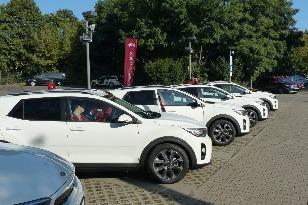Kia Stonic jazdy Berlín