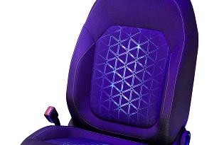 Adient UV lighting