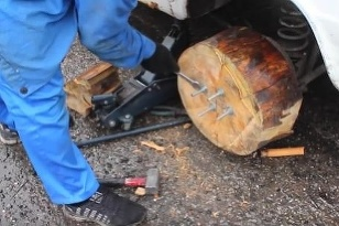 Drevené kolesá