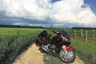 Honda Goldwing K 1800