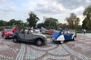 Citroëny 2CV v Lučenci