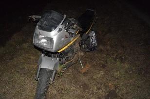 Nehoda Galanta moto