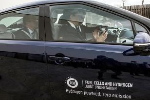 Testovacie jazdy vodík