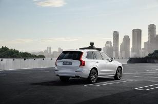 Volvo autonómne pre Uber