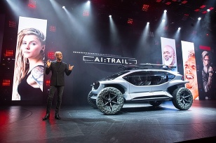 Audi Autosalón IAA Frankfurt