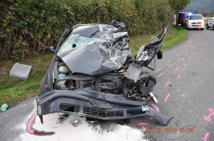 Nehoda Tekovská Breznica