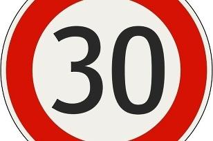 Maximálna rýchlosť 30 km