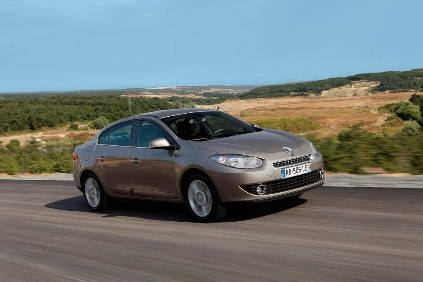 Renault stopol Fluence a