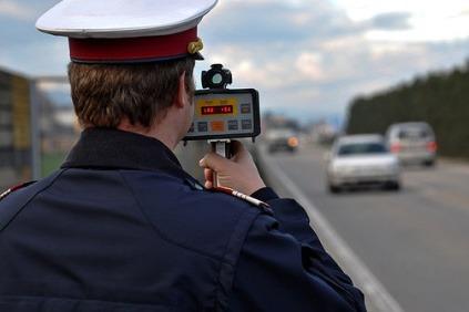 Dopravná polícia v Rakúsku