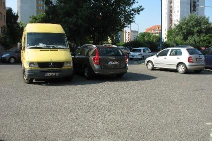 Parkovanie v Petržalke