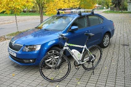 Bicykel Škoda Green E