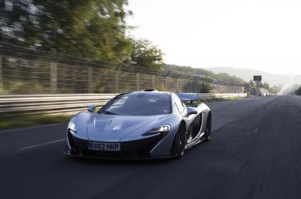McLaren P1 na Nordschleife
