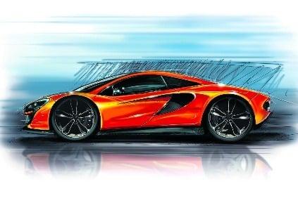 Prvá skica McLaren P13