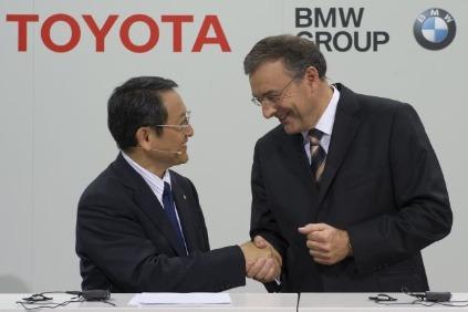 Toyota a BMW