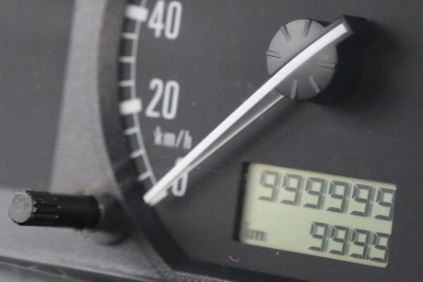 Škoda Fabia nemeckého vodiča