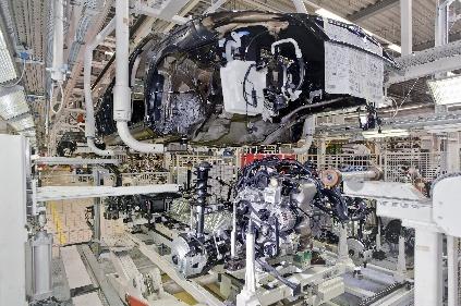 Výroba vozidiel Škoda -