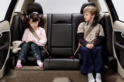 Volvo predstavilo nafukovaciu detskú