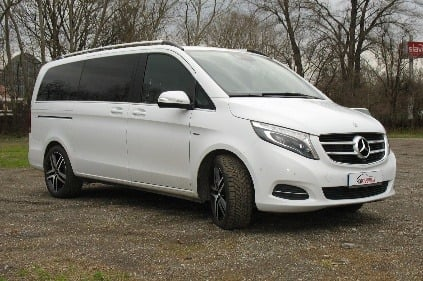 test mercedes benz v 250 bluetec orient expres na. Black Bedroom Furniture Sets. Home Design Ideas