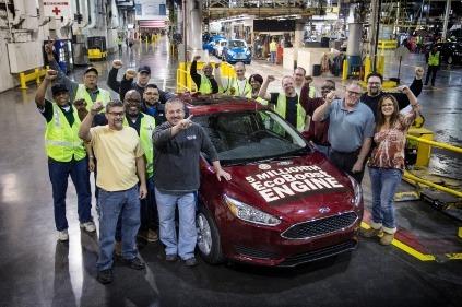 Ford vyrobil už 5