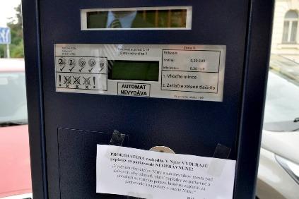 Parkovanie v Nitre je