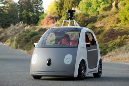 Google Robocar autonómne vozidlo
