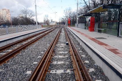 Električková trať, široký rozchod