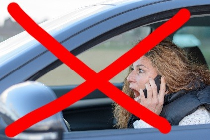Telefonovanie za volantom