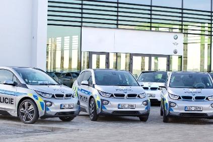 BMW i3 pre políciu
