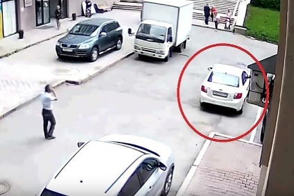 Pokus o parkovanie -