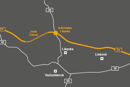 Diaľnica D1 Hubová-Ivachnová