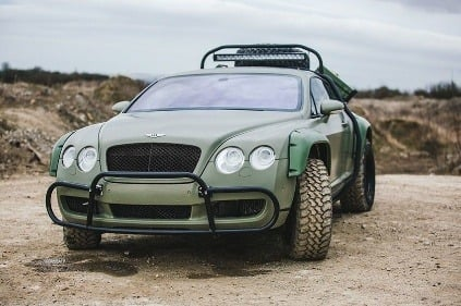 Bentley Continental GT Rally
