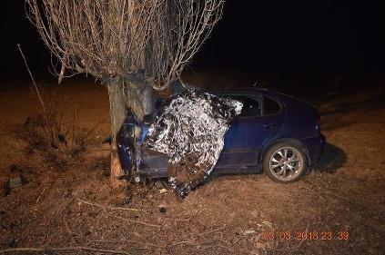 Nehoda v Šoporni