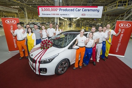 Kia Motors vyrobila v