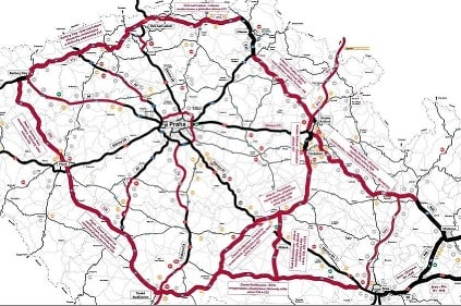 Druhá etapa diaľnic v