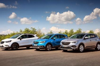 Opel s rodinou SUV