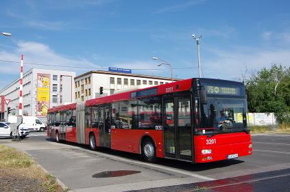 Mann jazdené autobusy DPB
