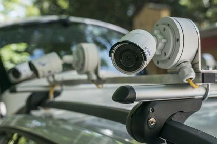 Inteligentné vozidlo so snímacou