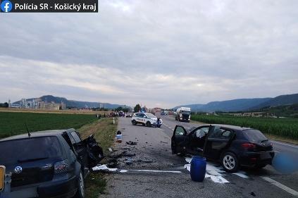 Nehoda Turňa nad Bodvou