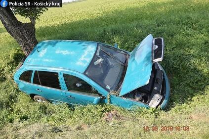 Nehoda Budkovce