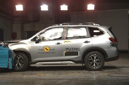 Subaru Forester EuroNCAP