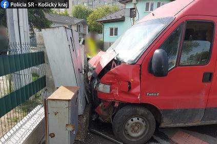 Nehoda Trebišov - Suzuki