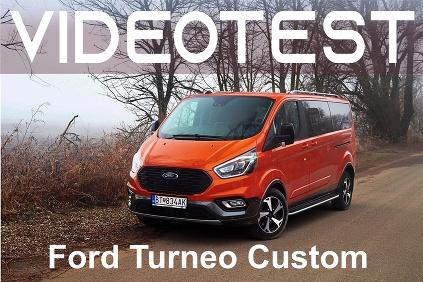 VIDEOTEST: Ford Turneo Custom
