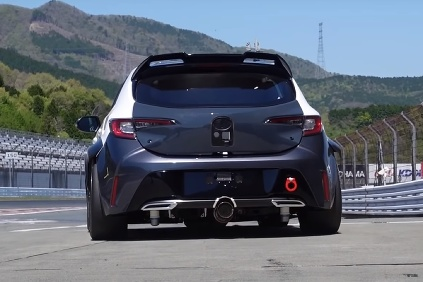 Toyota Corolla Hydrogen Sound