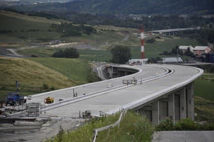 Rozostavaná diaľnica D1
