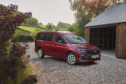 PHOTO: Ford Turneo Connect in a new way.  First fruit of working with VW