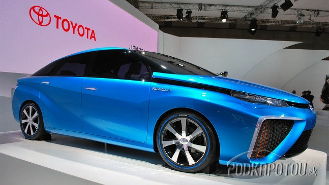 Fuel cell - autá