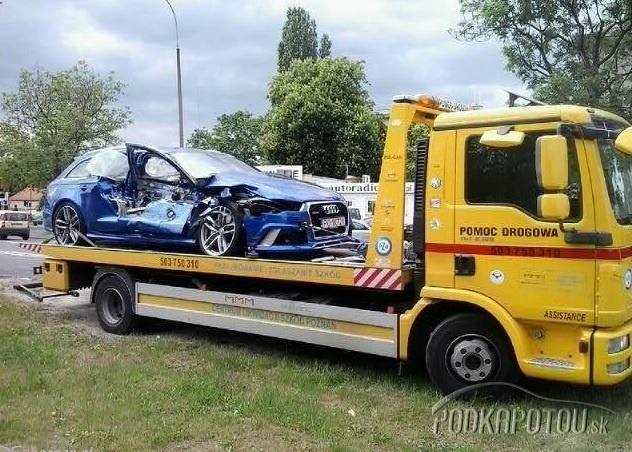 Audi RS6 na poslednej