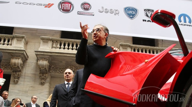 Ferrari Sergio Marchionne