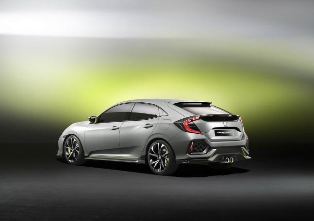 Honda Civic hatchback 2016
