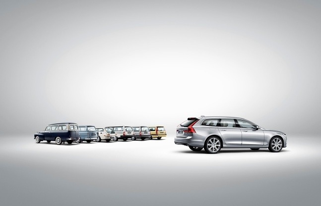 Volvo V90 nadväzuje na